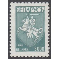 Беларусь 1994, Первый стандартный выпуск, герб Погоня, марка Mi: 82 (номинал 3000)
