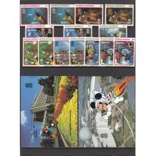 Дисней Антигуа и Барбуда 1988, Экспо Центр полная серия
