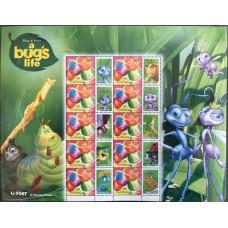 Дисней Австралия 2003, Мультфильм Жизнь жуков, малый лист