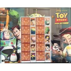 Дисней Австралия 2004, Мультфильм История игрушек, малый лист