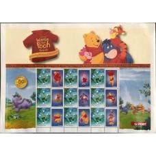 Дисней Австралия 2005, Мультфильм Винни Пух, малый лист