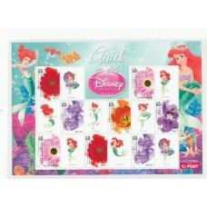 Дисней Австралия 2011, Принцессы Диснея малый лист Русалочка Цветы