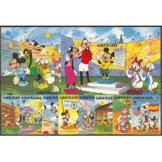 Дисней Гренада 1988, Олимпиада Сеул-88, полная серия