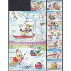 Дисней Гайана 1991, Олимпиада Альбервиль-92, полная серия