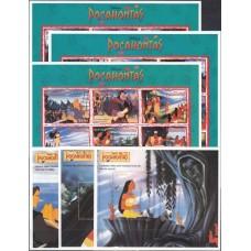 Дисней Гайана 1995, Покахонтас-2 полная серия (второй выпуск)