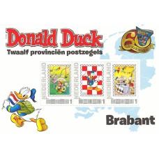 Дисней Нидерланды 2012, 60-летие Доналда в Нидерландах BRABANT, блок