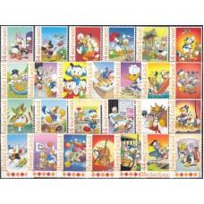 Дисней Нидерланды 2012, 60-летие Доналда в Нидерландах, серия 26 марок