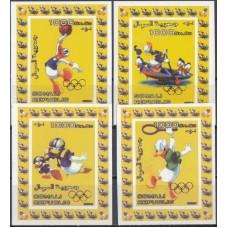 Дисней Сомали 2006, Олимпиада, серия 4 люкс-блока без зубцов