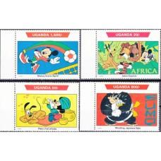 Дисней Уганда 1992, Поездки по всему миру, серия 4 марки