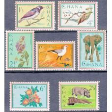 Фауна Гана, Дикая природа Африки, серия 7 марок