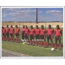 Футбол Ангола 1997, ЧМ Франция-98 блок Mi: 36