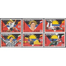 Футбол Антигуа и Барбуда 1994, ЧМ США-94, серия 6 марок