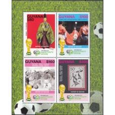 Футбол Гайана 2006, ЧМ Германия-2006, блок-коллектив с зубцами