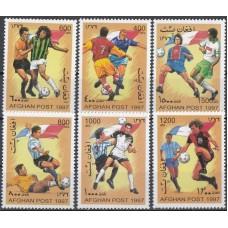 Футбол Афганистан 1997, ЧМ Франция-98 серия 6 марок