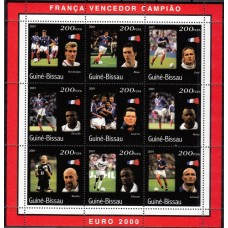 Футбол Гвинея Биссау 2001, ЧЕ Бельгия-Нидерланды-2000, Франция - Чемпион Европы 2000, блок-коллектив
