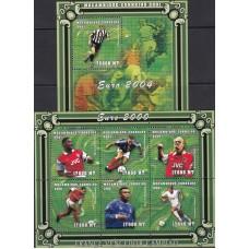 Футбол Мозамбик 2000, ЧЕ Бельгия-Нидерланды 2000, Португалия-2004, 1 блок 1 блок-коллектив