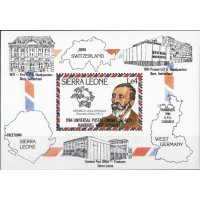 История почты и связи Сьерра Леоне 1984, Международный Почтовый Союз блок Mi: 22