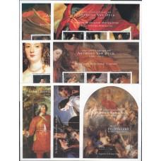 Живопись Сент Винсент Гренадины 2000, Ван Дейк 400 лет, полная серия (редкая)