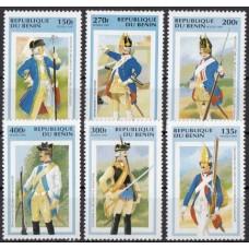 Военная форма Бенин 1997, Военная форма серия 6 марок