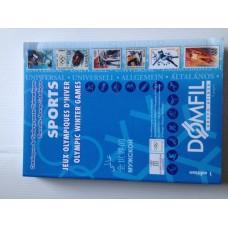 Каталог DOMFIL зимних олимпийских игр, 2002 года выпуска (новый)