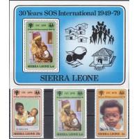 Дети Сьерра Леоне 1979, Международный год ребенка полная серия