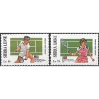 Спорт Сьерра Леоне 1987, Теннис серия 2 марки