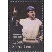 Спорт Сьерра Леоне, Бейсбол 1 марка