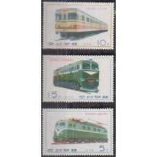 Железная дорога КНДР 1976, Локомотивы  серия 3 марки