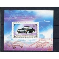Автомобили Монголия 1989, Автомобили блок