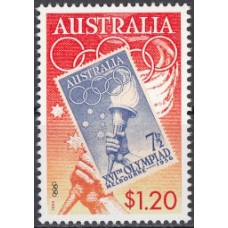Олимпиада Австралия 1999, День Олимпийских Игр, марка Mi: 1804