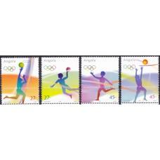 Олимпиада Ангола 2004, Афины-2004 полная серия