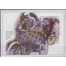 Олимпиада Антигуа и Барбуда ПОЧТА БАРБУДЫ 1995, Атланта-96 блок Mi: 263 Велоспорт (редкий)