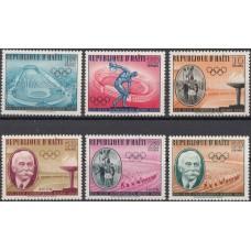 Олимпиада Гаити 1960, Рим-60 серия 6 марок