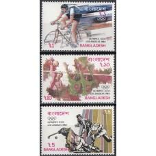 Олимпиада Бангладеш 1984, Лос Анджелес-84 полная серия (редкая)